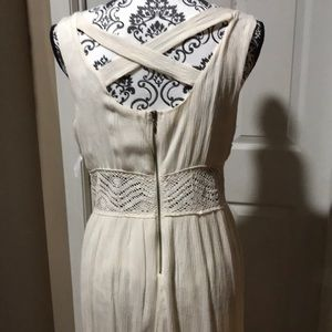 Ivory Designer dress